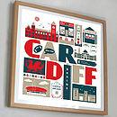 Cardiff City Print