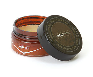Sandalwood Moustache And Beard Wax - shaving