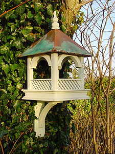 Large Bempton Wall Mounted Bird Feeder Table - art & decorations
