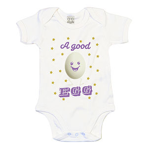 A Good Egg Babyvest/Bodysuit