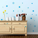 Small Star Wall Stiker Set