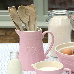 Pink Heart Table Jug - view all sale items