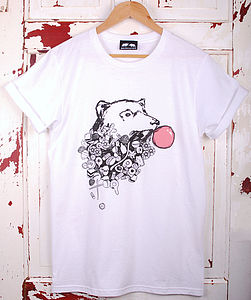 Bear And Sweets T Shirt - women's fashion