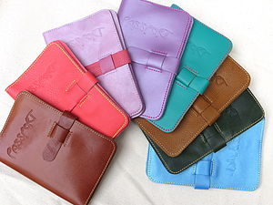 Personalised 'Nomad' Leather Passport Case - passport & travel card holders