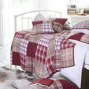 Eaton Patchwork Quilt - bedspreads & quilts