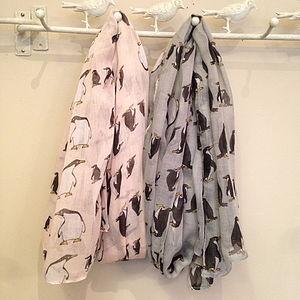Penguin Scarf - hats, scarves & gloves
