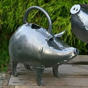 Piglet Watering Can - garden care