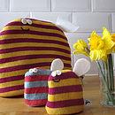Bee Egg Cosies