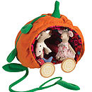Pumpkin Carriage And Prince And Princess Mice