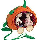 Pumpkin Carriage And Prince And Princess Mice