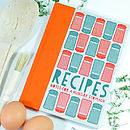 Notes For A Hungry Stomach   Recipe Notebook