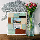 Reclaimed Wood Patchwork Photo Frame