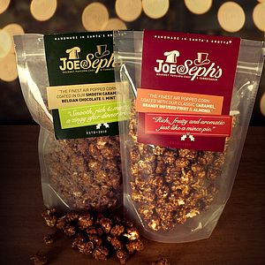 Christmas Flavour Popcorn - christmas parties & entertaining