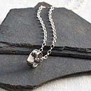 Meteorite Ring Necklace