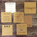 Thumb vintage print wedding invitation
