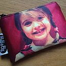 Personalised Photo Coin Purse