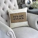 Drink O'clock Cushion
