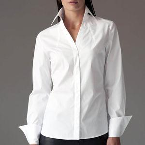 Madelena White Shirt - blouses & shirts