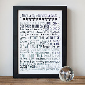 'Shakespeare Speak' Fine Art Print - baby's room