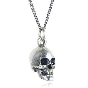 Skull Necklace - women's jewellery