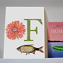 F Is For Flower And Fish