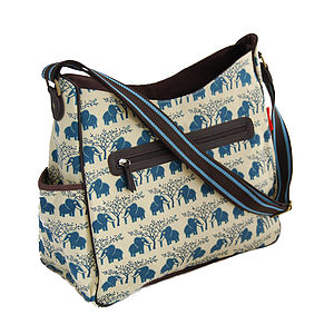 African Elephant Baby Changing Bag - baby changing