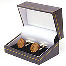 Gift box with gold profiling