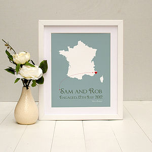 'Wedding Gift' Personalised Print - art & pictures