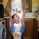 Personalised Parent And Child Aprons