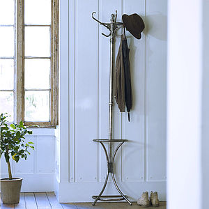 Henry Wall Mounted Coat Stand - hooks, pegs & clips