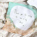 Wedding Handkerchief: Six Choices