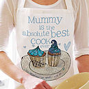 Personalised 'Best Cook Ever' Apron
