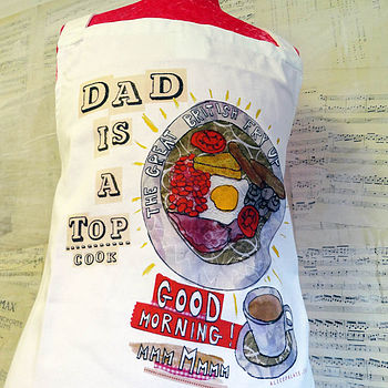 Personalised Men Made Perfect Apron