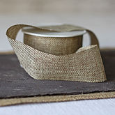 Hessian Burlap Ribbon - cards