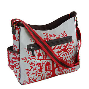 Red Tree Baby Changing Bag - baby changing