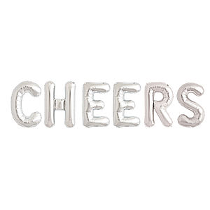 Cheers 16 Inch Balloon Letters - room decorations