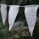 Country Garden Cotton Bunting Three.5m