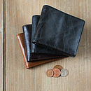 Casual Rugged Leather Wallet