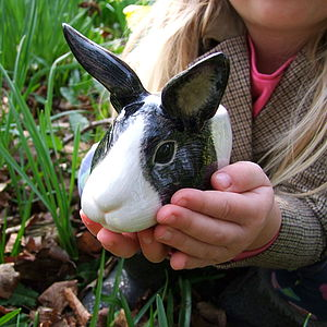 Bunny Egg Cup - easter home