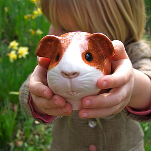Guinea Pig Egg Cup - egg cups & cosies