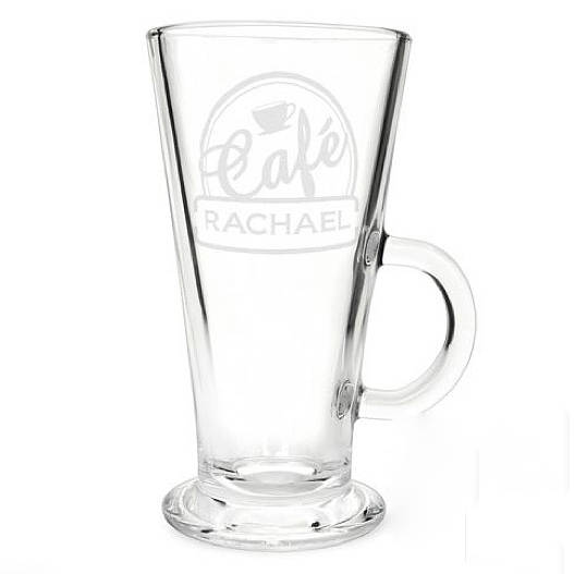 6d6e269a128 personalised 'latte' glass by the letteroom | notonthehighstreet.com