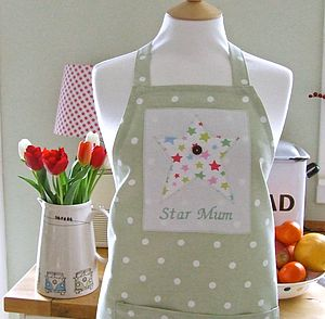 Personalised Star Apron - kitchen accessories
