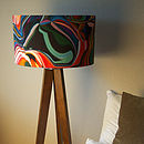 Retro Pop Designer Drum Lampshade