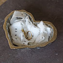 Silver Hearts Wedding Ring Dish