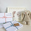 Inkless Handprint And Footprint Kit