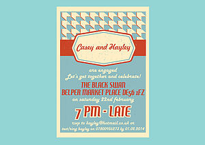 Personalised Party Invitation All Occasions - invitations