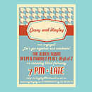 Personalised Party Invitation All Occasions