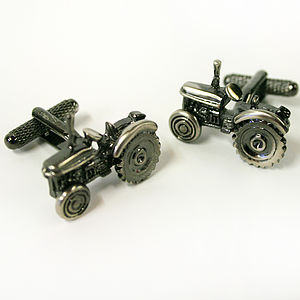 Tractor Cufflinks - men's accessories