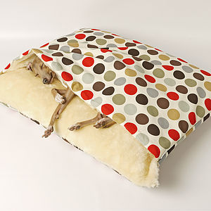 Dotty Snuggle Beds - valentine's gifts for your pet