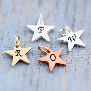 Add On J And S Jewellery Initial Charm - jewellery
